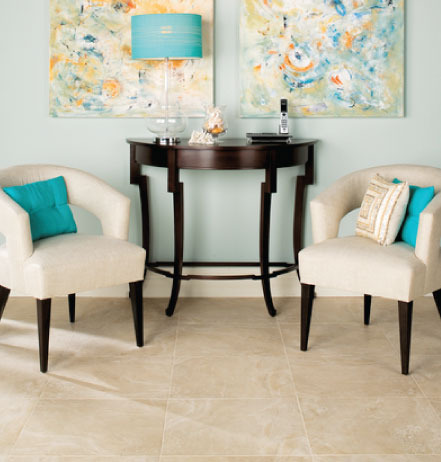 ceramic tile living room